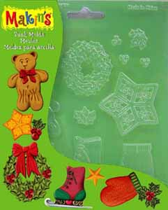 Push Moulds - Christmas Decor