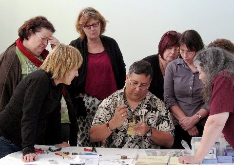 images/gallery/CCIP Instructors Graphics/Hector Veras Viking Knitting Class Contemporary Craft Retreat 2011.jpg